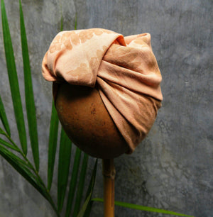 Natural Dyed Headscarf