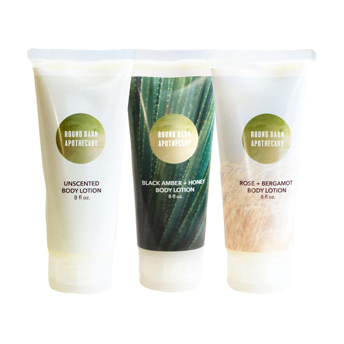 Soothing Body Lotions by Round Barn Apothecary
