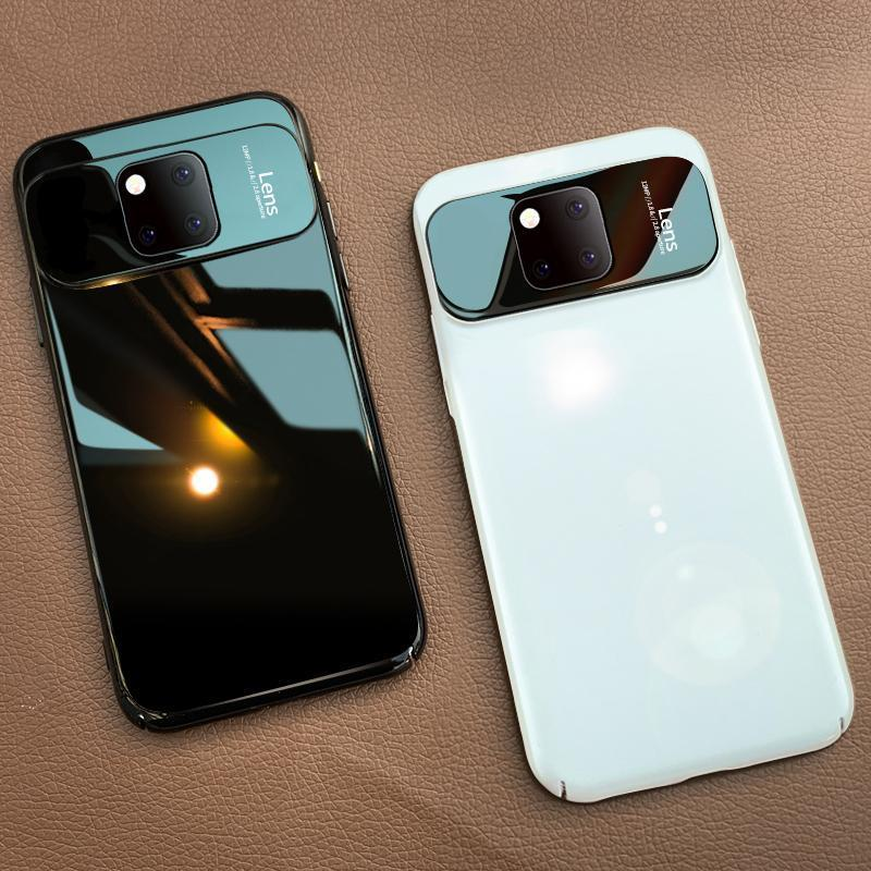 Luxury Mirror Tempered Glass PC Shockproof Back Cover Phone Cases For Huawei P20 P20Pro P30 P30Pro Mate 20Pro Mate 20 Mate 20 X