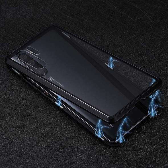 Upgraded Two Side Tempered Glass Magnetic Adsorption Phone Case for Huawei P30 P30Pro P30Lite