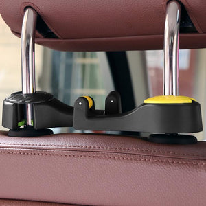 50%OFF-Last day Promotion-Limited ONLY $6.99 Car Headrest Hook 2-in-1