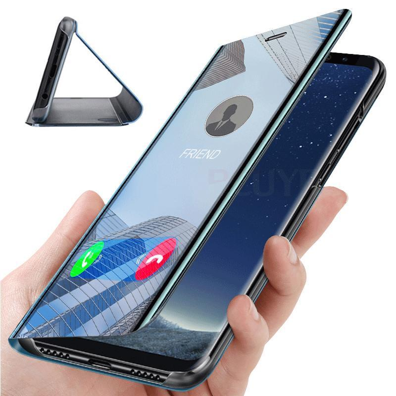 Smart View Flip Stand Phone Cover Protective Case For Samsung S8 S8 Plus