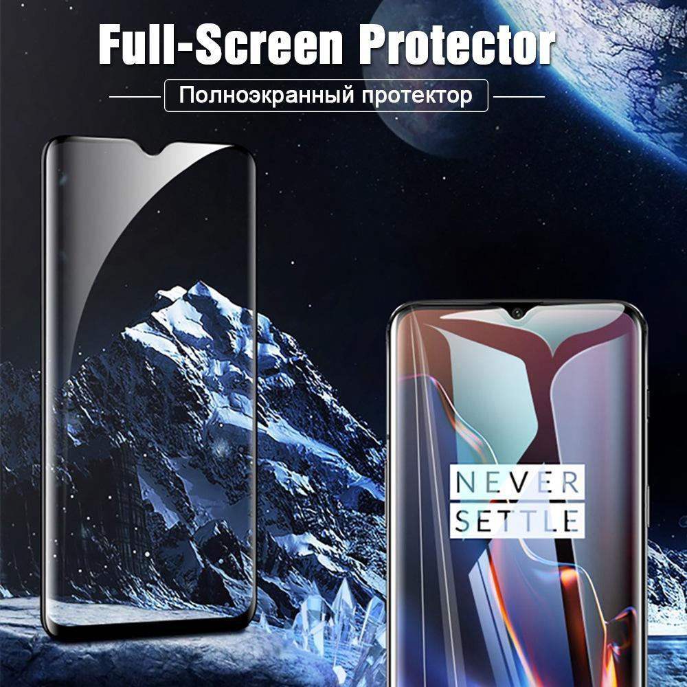 2 Packs 6D Full Coverage Tempered Screen Protector Film for Oneplus 6 6T 5T