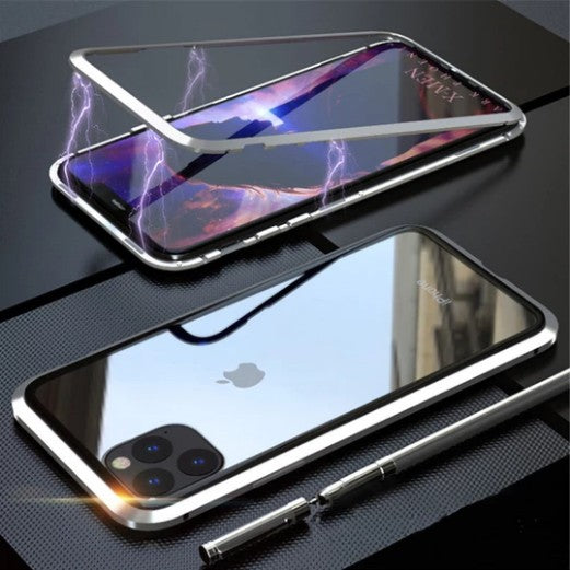 Magnetic Adsorption Two Side Glass Case for iPhone 11 Pro Max/iPhone 11 Pro/iPhone 11 Series