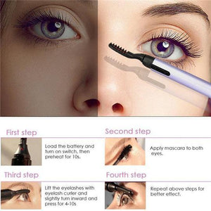 Curl Electric Eyelashes Curler Pen