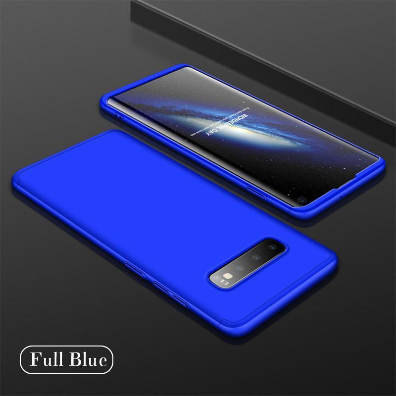Creative Stitching Three-in-One Matte Phone Protective Case
