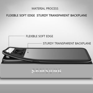 Ultra Thin Shockproof Drop Protection TPU Transparent Back Protective Case for Samsung S8 S8Plus S9 S9Plus Note8