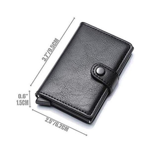 RFID Anti-magnetic Card Slot Wallet