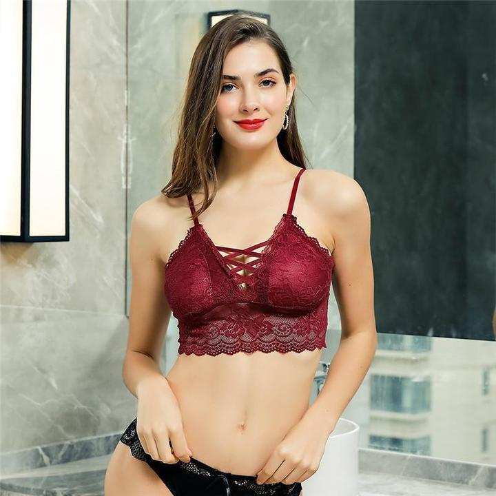 Adjustable Straps 🎈Wireless Sexy Floral Lace Bra🎈