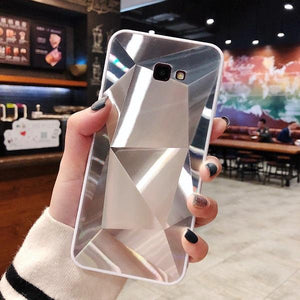Glossy Diamond Crystal Laser Holographic Prism 3D Case For Samsung S9/S9Plus S10/S10Plus/Lite