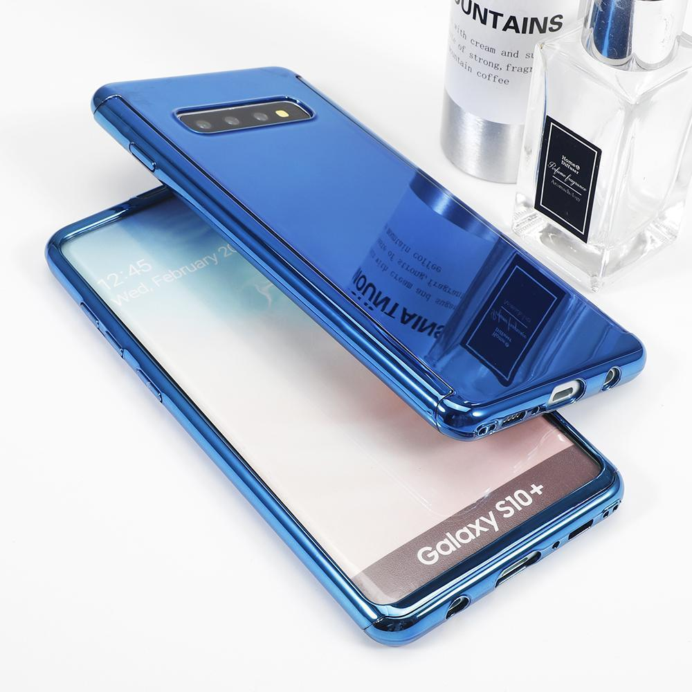 Luxury 360° Plating Mirror Phone Case For Samsung Galaxy S10 S10Plus S10E