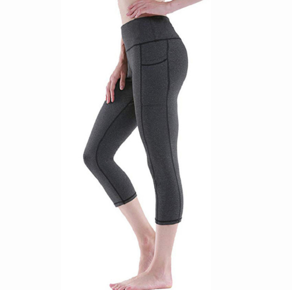 Women Leggings Polyester Pocket Leggings
