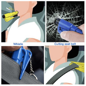Comforly™ 3 in 1 Car Life Keychain(It is recommended to have one for each seat.)