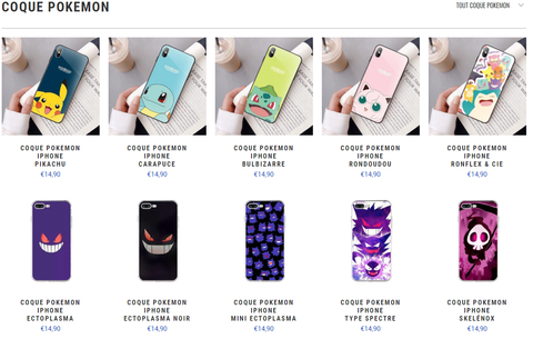 coque pokemon cadeau pokemon
