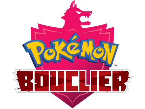 logo t shirt pokemon bouclier