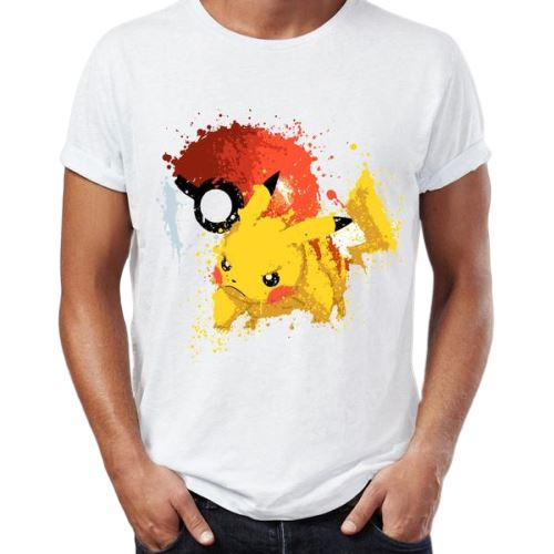 T shirt pokemon pikachu