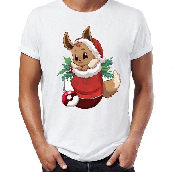 T Shirt Pokemon Noel