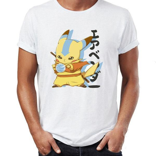 T-Shirt Pokemon pikachu avatar