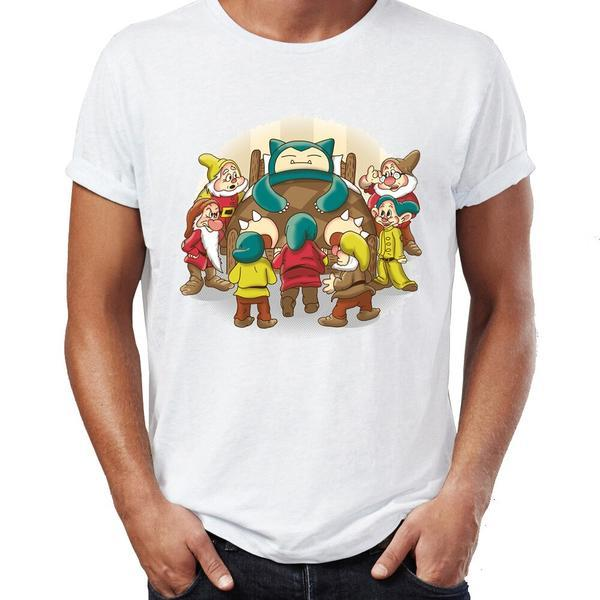 T Shirt Pokemon Ronflex 7 nains