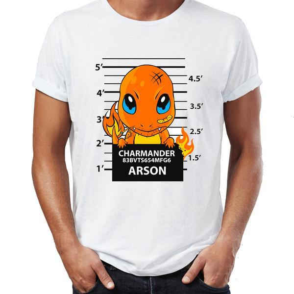 t shirt Pokemon Salameche