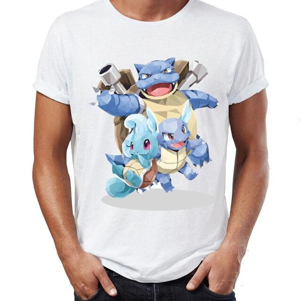 T shirt Pokemon Tortank et sa famille