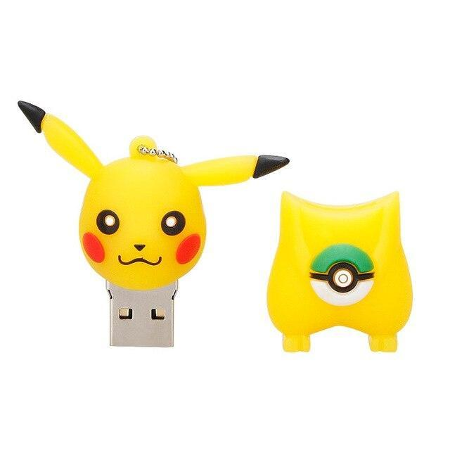 clé usb pikachu pokeball
