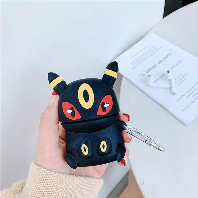 coque pokemon airpods noctali boutique pokemon