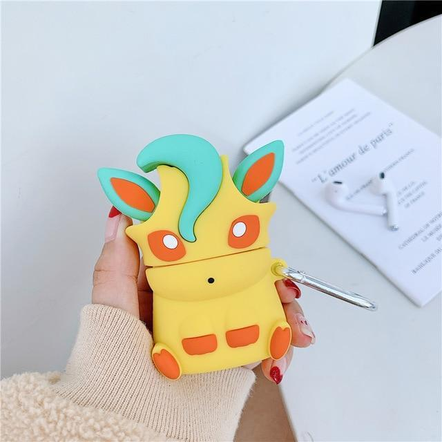 coque pokemon airpods phyllali pokemon boutique