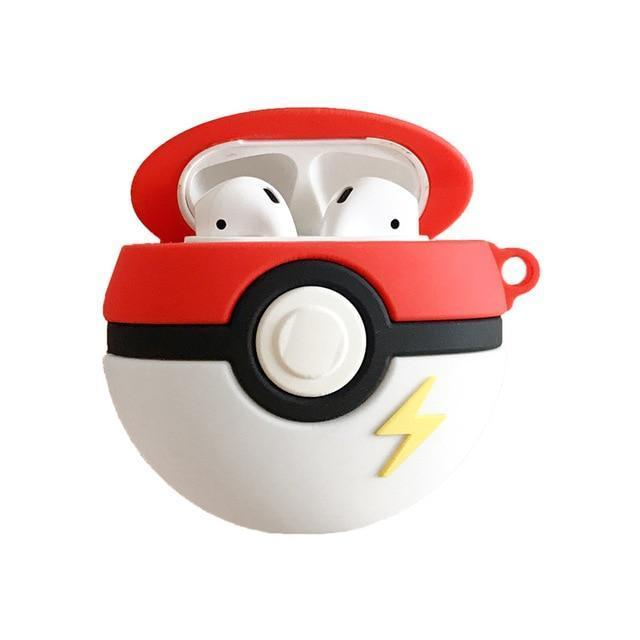 coque pokemon airpods pokeball boutique pokemon
