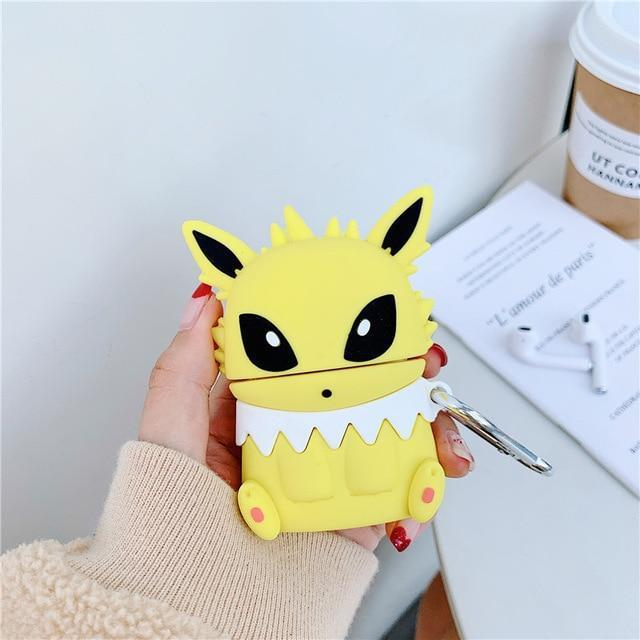 coque pokemon airpods voltali boutique pokemon