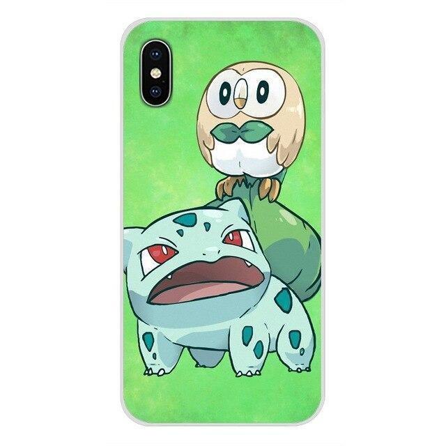 coque pokemon huawei type plante