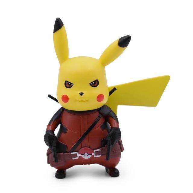 figurine pikachu deadpool