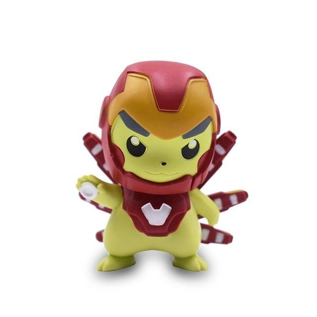 figurine pikachu iron man