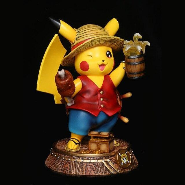 figurine pikachu luffy