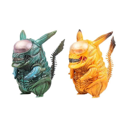 figurine pokemon pikachu alien