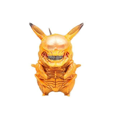 figurine pokemon pikachu en alien