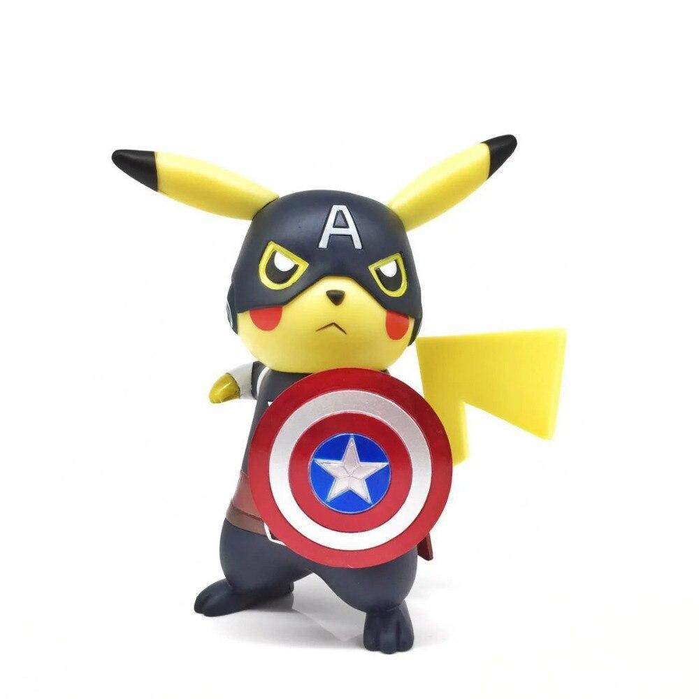 figurine pokemon captain america
