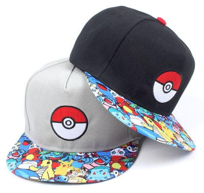 casquette pokemon pokedex
