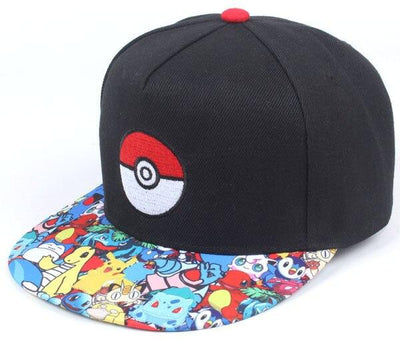 casquette pokemon de pokedex