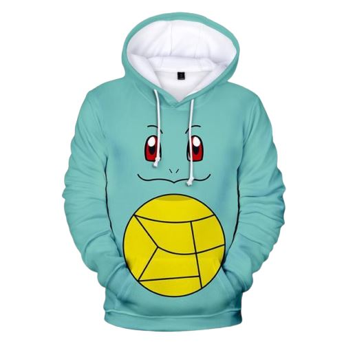 sweat pokemon carapuce