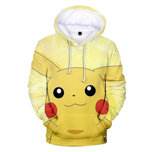 sweat pokemon pikachu joyeux