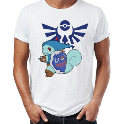 T-shirt Pokemon Carapuce Zelda