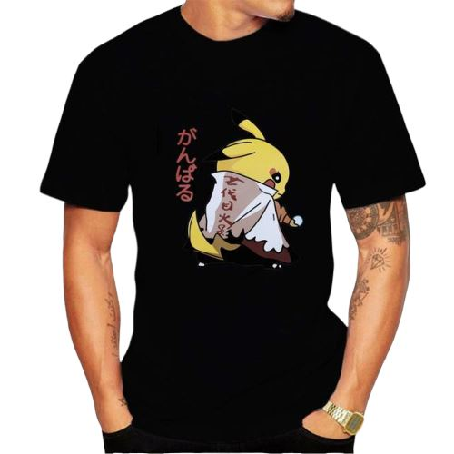 t shirt pokemon pikachu hokage