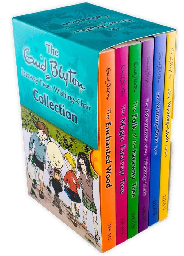 Magic Faraway Tree and Wishing Chair Series 6 Books Box set - Ages 5-7 - Paperback - Enid Blyton