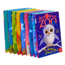 Zoe's Rescue Zoo Collection 9 Books Set by Amelia Cobb Messy Merrkat, Scruffy Sea Otter,...
