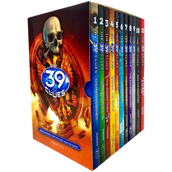 The 39 Clues Collection 11 Books Set Pack Series Collection
