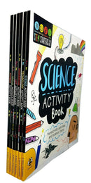 STEM Starters 6 Activity Books Set Technology Science Engineering Maths