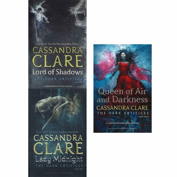 Cassandra Clare The Dark Artifices Series 3 Books Collection Set Paperback