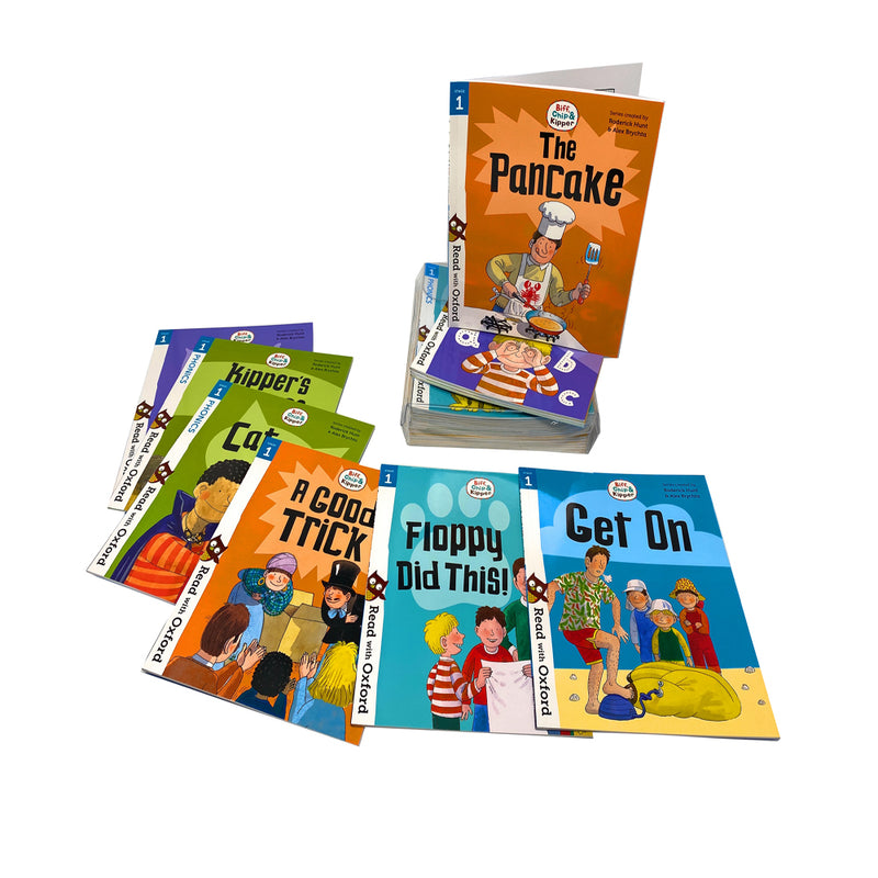 Biff, Chip and Kipper Stage 1 Read with Oxford 3+ (24 Books Collection Set)