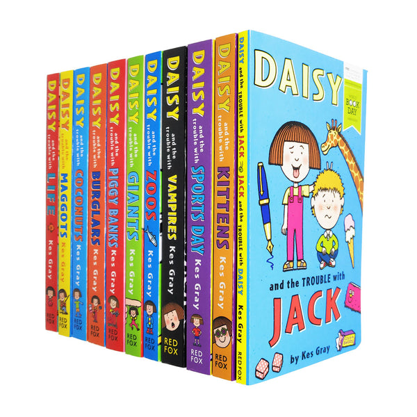 Daisy and the Trouble Collection Pack Kes Gray Set With World Book Day 11 Books